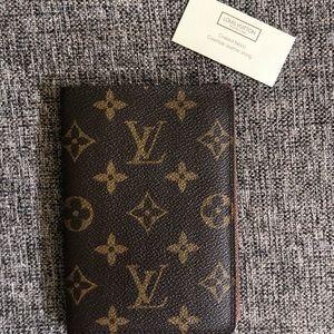 Authentic Louis Vuitton Passport Holder